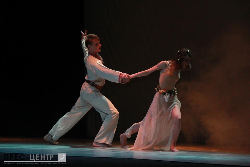 Вечір одноактних балетів від випускників факультету культури і мистецтв
