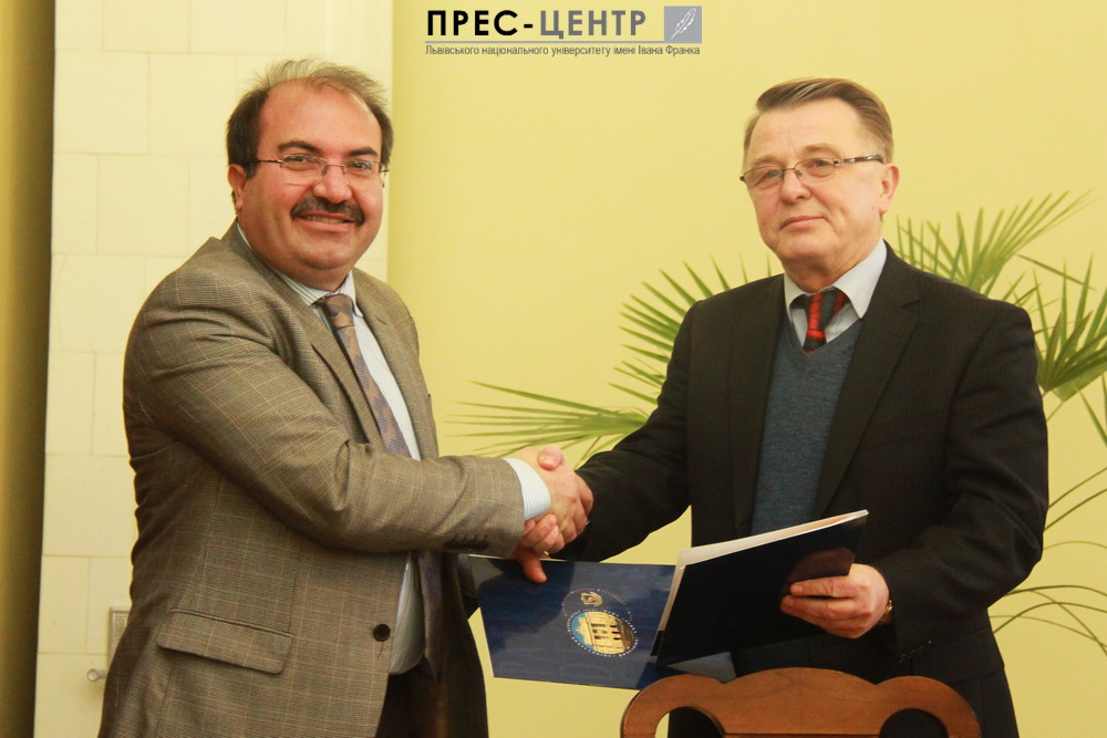 Rectors of the Ivan Franko National University of Lviv and the  University (Turkey) signed the agreement on academic cooperation