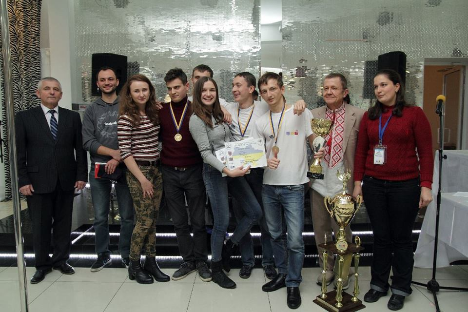 The team of the faculty of applied mathematics and informatics of Lviv university – a winner of Sports Programing South East Europe Championship