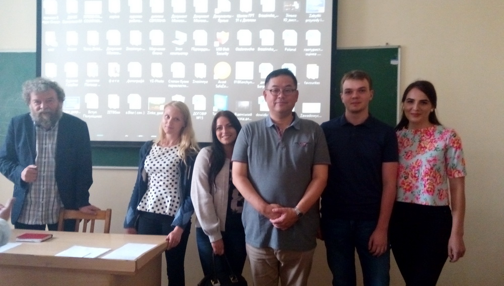 FAMOUS JAPANESE SOCIOLOGIST SHINJI IWANAGA DELIVERES A LECTURE FOR STUDENTS AND STAFF OF THE FACULTY OF GEOGRAPHY