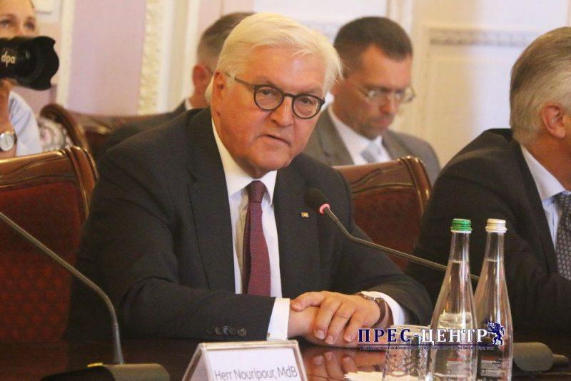 Львівський університет відвідав президент Німеччини Франк-Вальтер Штайнмайєр
