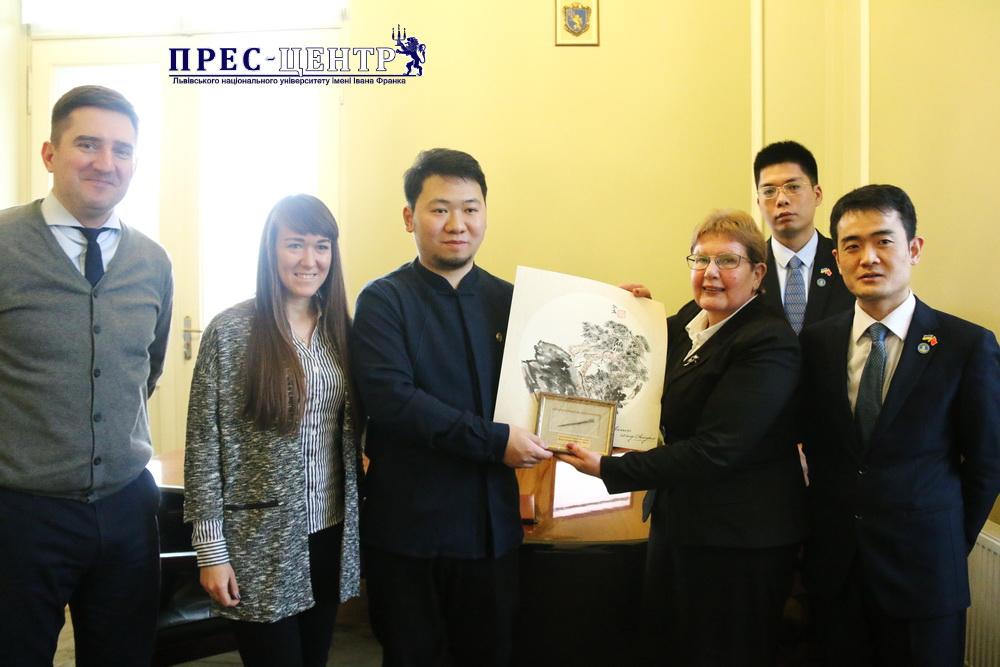 Центр культурних обмінів Шовкового Шляху Сьяньнань ініціює співпрацю з Львівським університетом