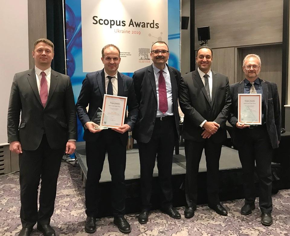 Lviv University Winner of «Scopus Awards Ukraine»