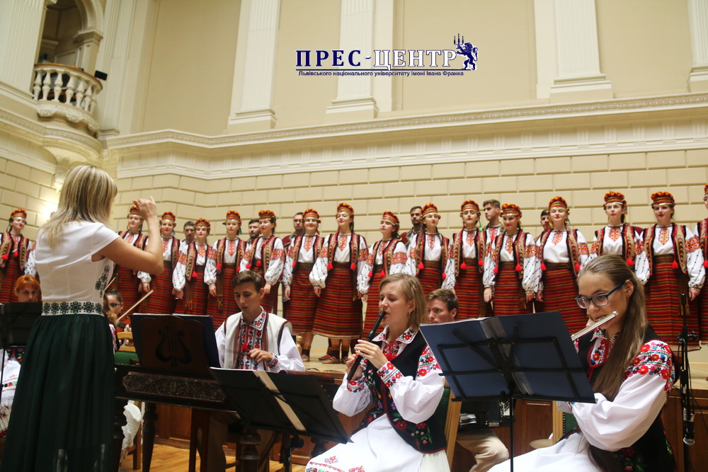 Відбувся концерт для першокурсників «Будьмо знайомі»