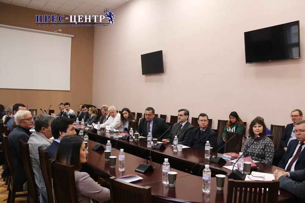 В Університеті відбулася науково-практична конференція до 20-річчя кафедри кримінального процесу і криміналістики