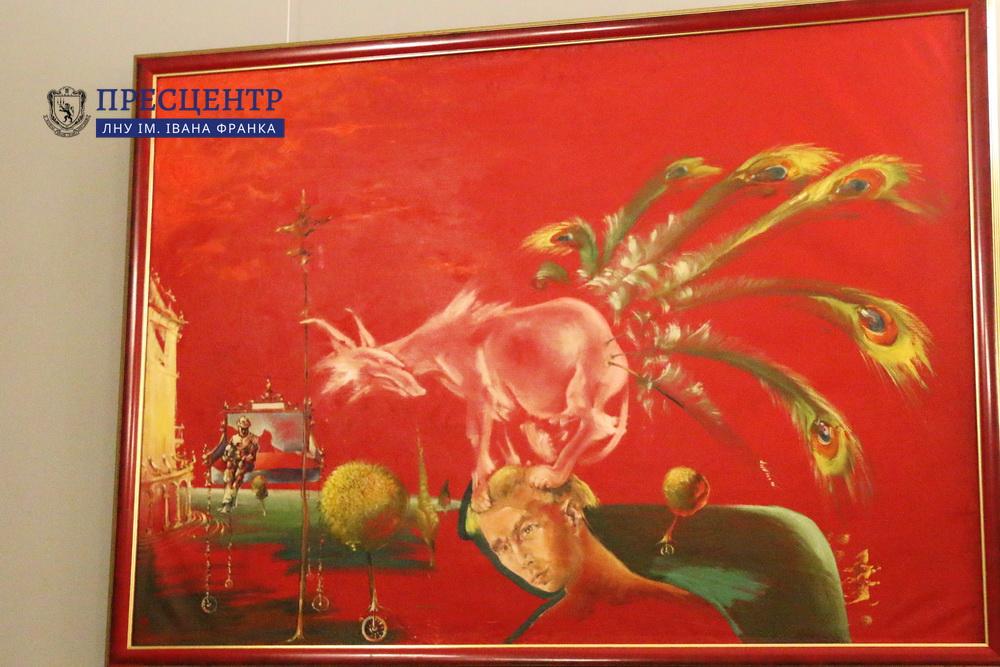 Реальність ілюзії: відбулося відкриття виставки робіт Валерія Денисенка