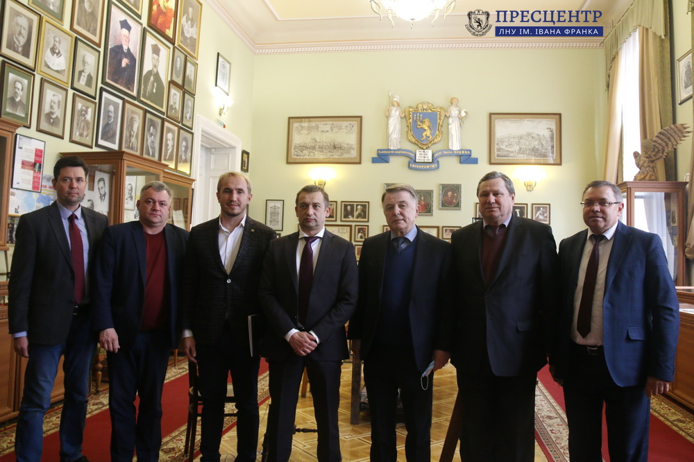 Lviv University along with Lviv Regional Arbitration Managers Council and the Western Regional Administration of the Ministry of Justice Started their Cooperation