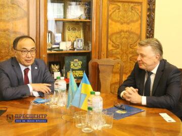 Львівський університет налагоджує співпрацю із Євразійським національним університетом імені Л.М. Гумільова