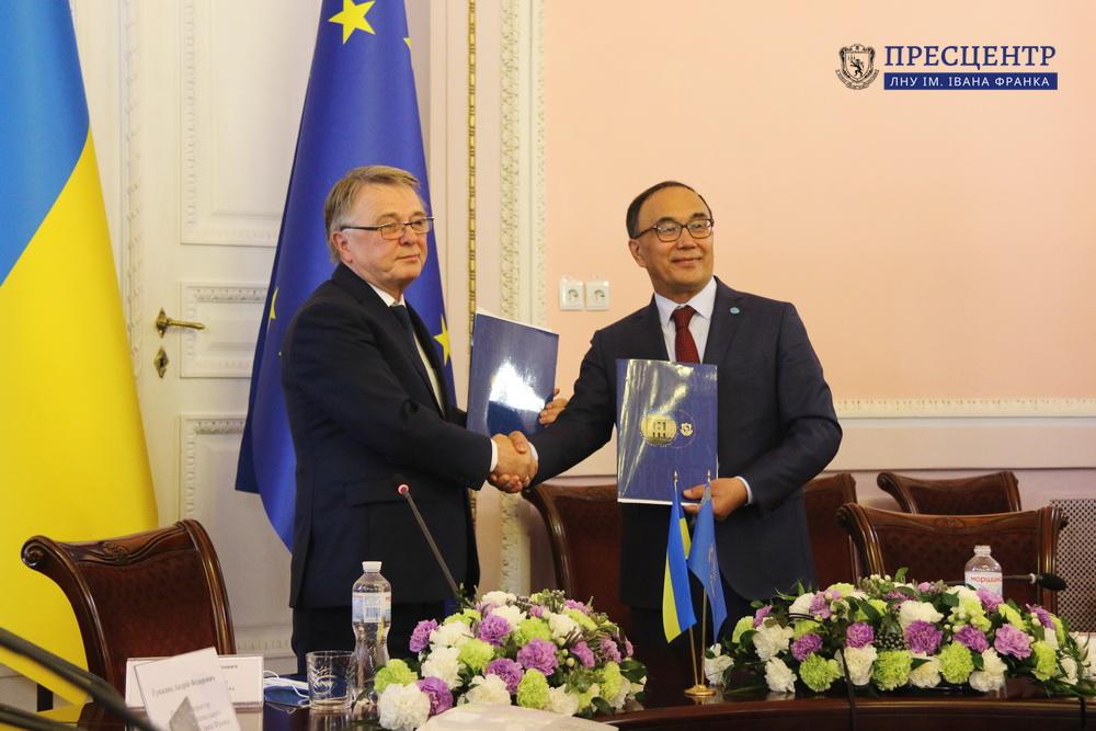 Lviv University establishes cooperation with the L.N. Gumilyov Eurasian National University