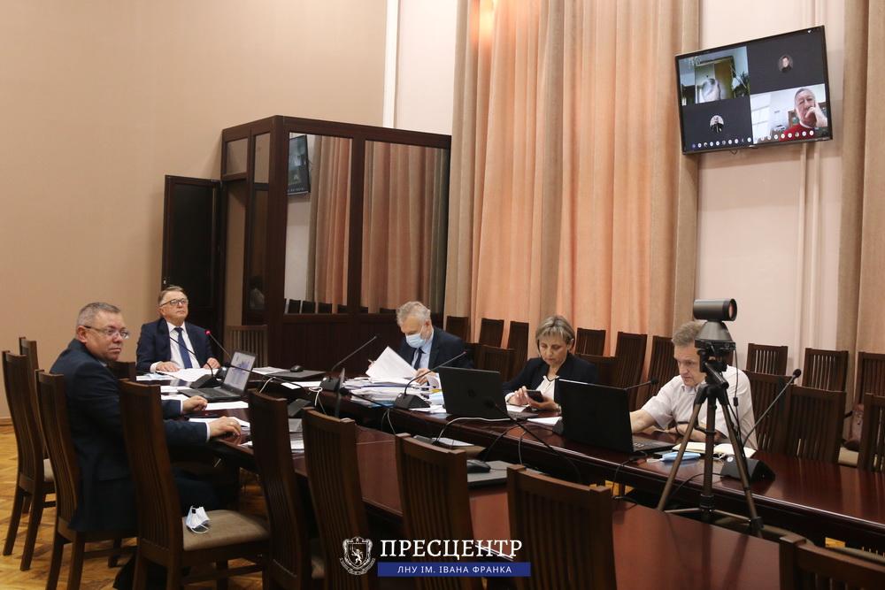 Вчена рада Університету обрала завідувачів 21 кафедри