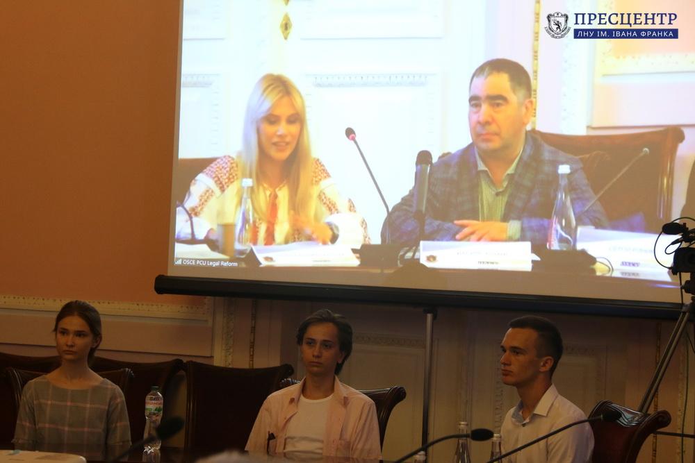 Відбулася Міжнародна науково-практична конференція «Конституційна демократія в умовах загроз територіальній цілісності та національній безпеці»