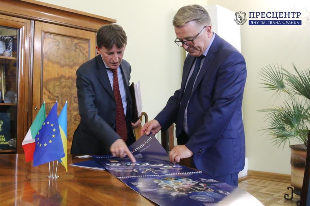 Університет відвідав Надзвичайний і Повноважний Посол Італії в Україні П'єр Франческо Дзадзо