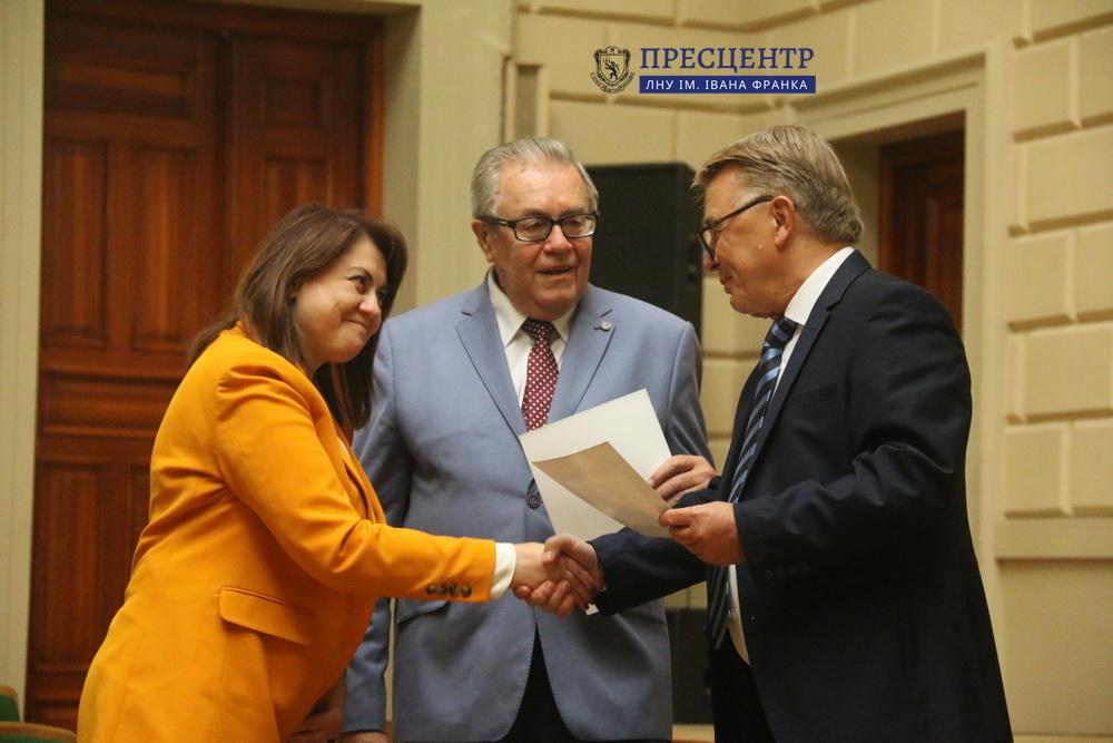 Відбулась урочиста зустріч Ректора з представниками університетської спільноти